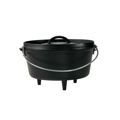 10er Camp Dutch Oven, tief