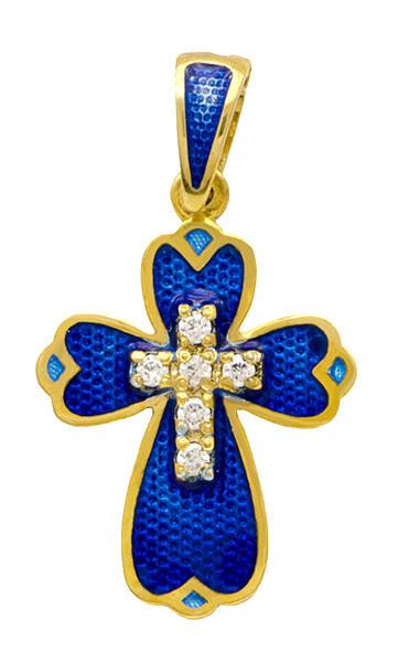Крест  Вставка: фианит