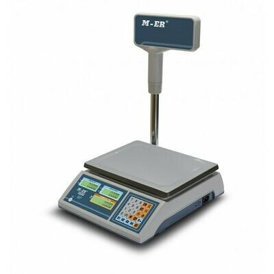 Торговые настольные весы M-ER 322 ACPX Ibby LED
