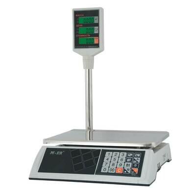 Торговые настольные весы M-ER 327 ACP