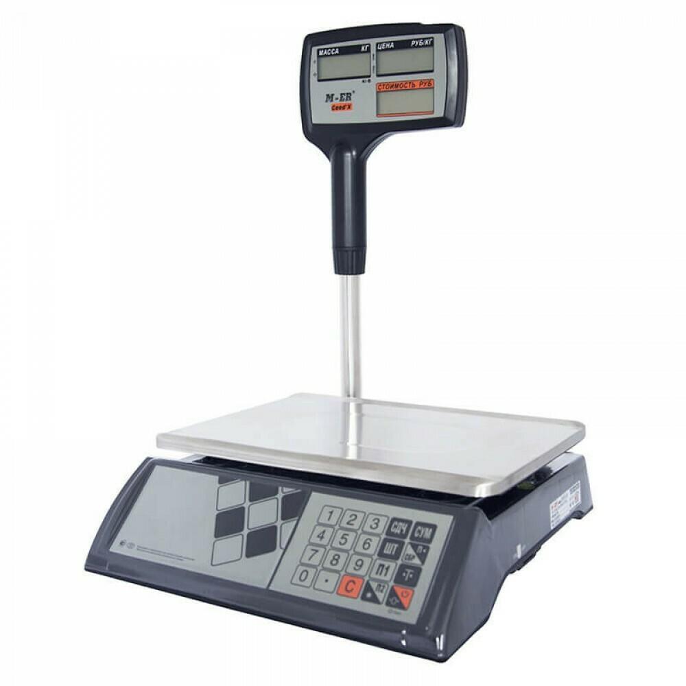 """Торговые настольные весы M-ER 327 ACPX-15.2 """"Ceed'X"""" LCD"""