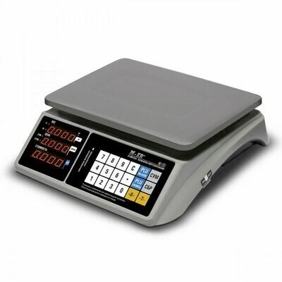 Торговые настольные весы M-ER 328 AC TOUCH-M LED RS232 и USB