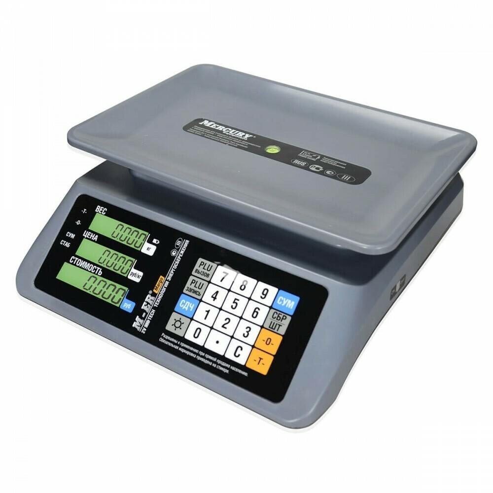 """Торговые настольные весы M-ER 321 AC """"MARGO"""" LCD"""