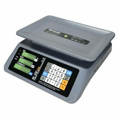 Торговые настольные весы M-ER 321 AC