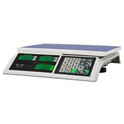 Торговые настольные весы M-ER 326 AC