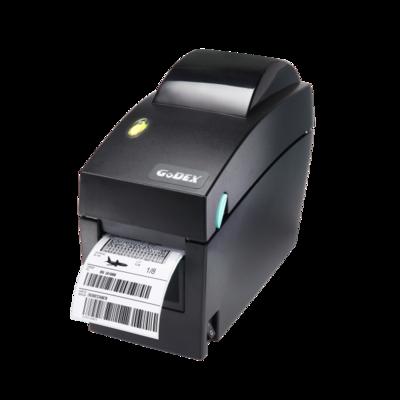 Принтер ШК Godex DT2x (203dpi, COM/USB/Ethernet, 011-DT2252-00A), чёрный