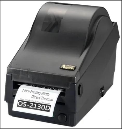 Argox OS-2130D-SB (терма-печать, интерфейсы COM и USB, ширина печати 72 мм, скорость 104 мм/с)