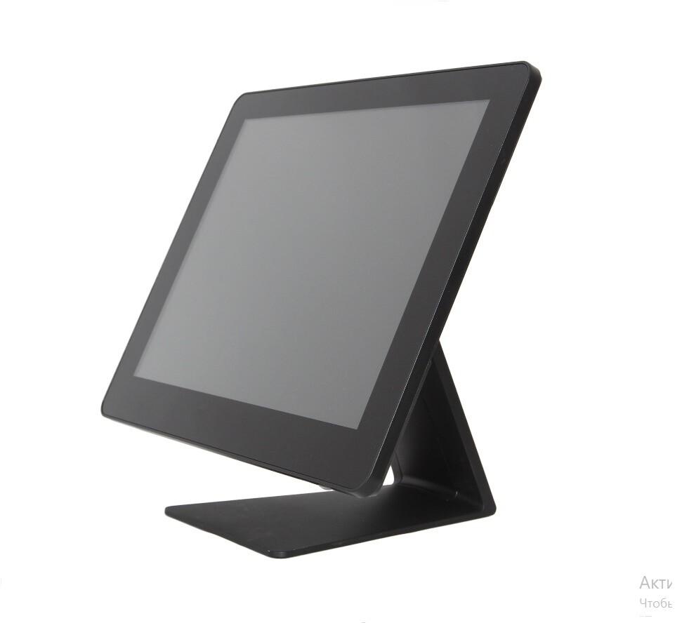 "Сенсорный моноблок FEC PP-1635, 15"" LED LCD, 4Gb, SSD 128 Gb, MSR, black, NO OS"