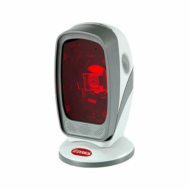 Сканер штрих-кода  Zebex Z-6070 лаз., бел, USB KIT: каб, подставка, без БП, арт. 886-7000UB-E00