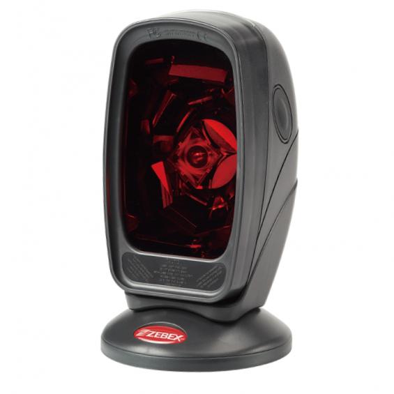 Сканер штрих-кода Zebex Z-6070 лаз., чер., USB KIT: каб, подставка, без БП, арт. 886-7000UB-E01