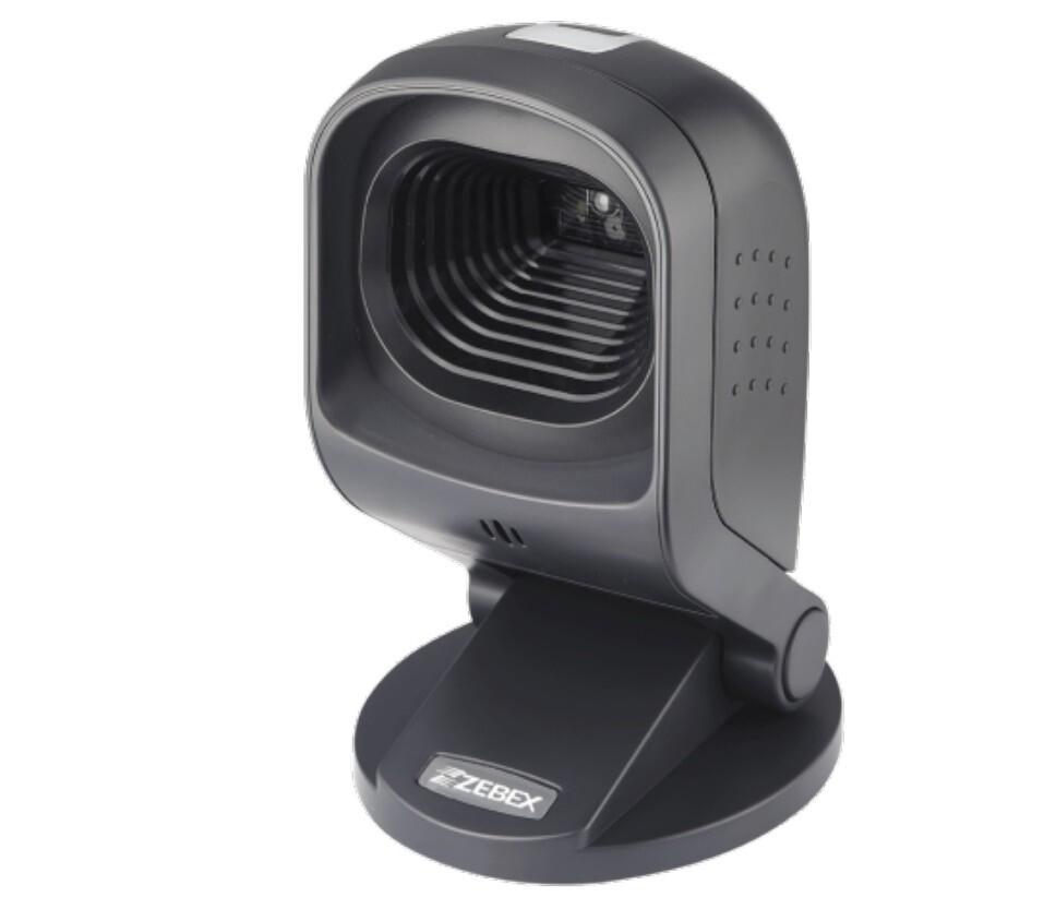 Сканер штрих-кода Zebex Z-6172, 2D, черный USB кабель, арт. 88F-7200UB-001 настольный