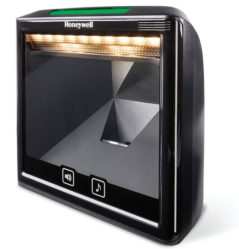 Сканер штрих-кода Honeywell MS7980g Solaris 2D, USB, чёрный