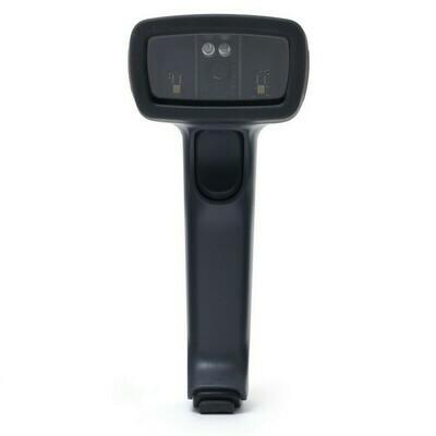 Сканер штрих-кода VMC BurstScanX Vb Bluetooth 2D, ручной, тёмный (c дет. валют, с инт.каб.USB 2 м, БП)
