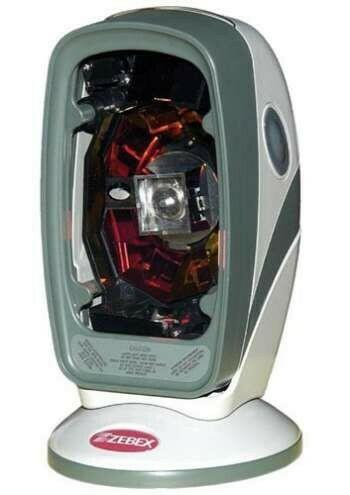 Сканер штрих-кода Zebex Z-6070 лаз., бел., RS-232 KIT: каб, подставка, без БП, арт. 886-7000RP-E00