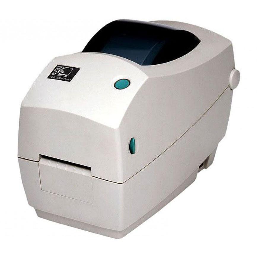 Принтер Zebra TLP2824 Plus (терма-трансферный; 203dpi; 2 ; RS232,USB), арт. 282P-101120-000