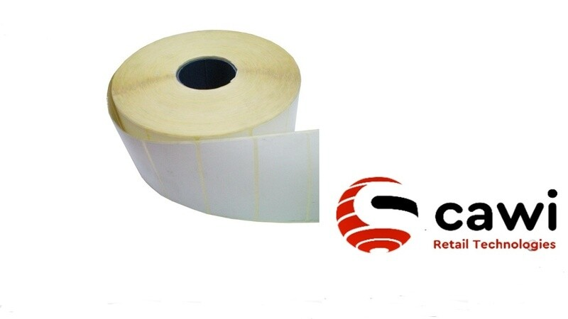Этикет-лента 43x25 (1000 шт) полу-глянец