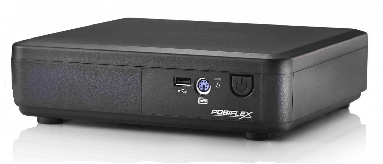 POS-компьютер Posiflex TX-2100-B-RT черный, Intel Celeron J1900 2/2.42 GHz, SSD, 2 GB DDR3 RAM, 60W PSU, Windows 10 IoT (Парад скидок)