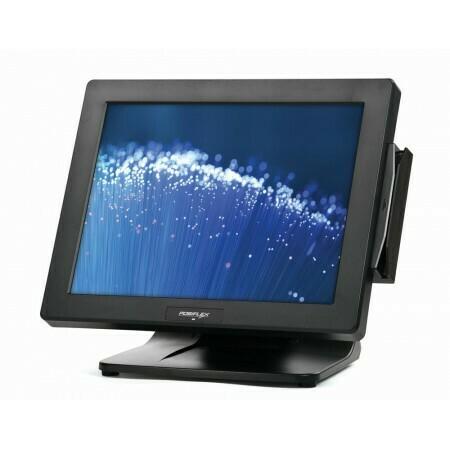Сенсорный терминал Posiflex PS-3416E-B-RT  черный, 15.6  P-CAP, Intel Celeron J1900 2.16 GHz, SSD, 4 GB DDR3, MSR, без ОС, USB (Парад скидок)