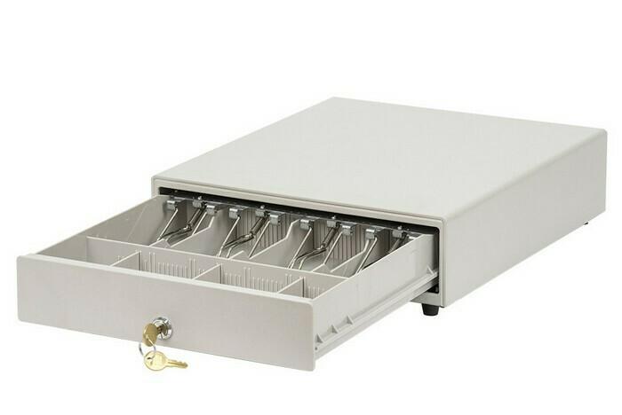 Денежный ящик АТОЛ CD-330-W белый, 330*380*90, 24V, для Штрих-ФР (Парад скидок)