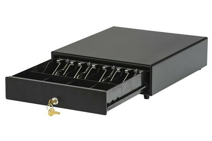 Денежный ящик АТОЛ CD-330-B черный, 330*380*90, 24V, для Штрих-ФР (Парад скидок)