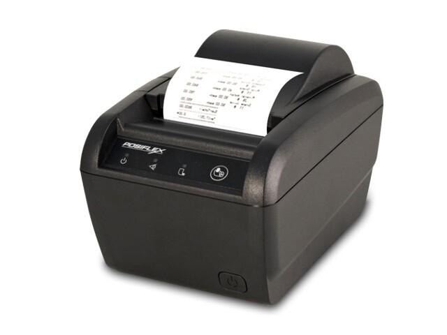 Чековый принтер Posiflex Aura-6900L-B (USB,LAN) черный (Парад скидок)