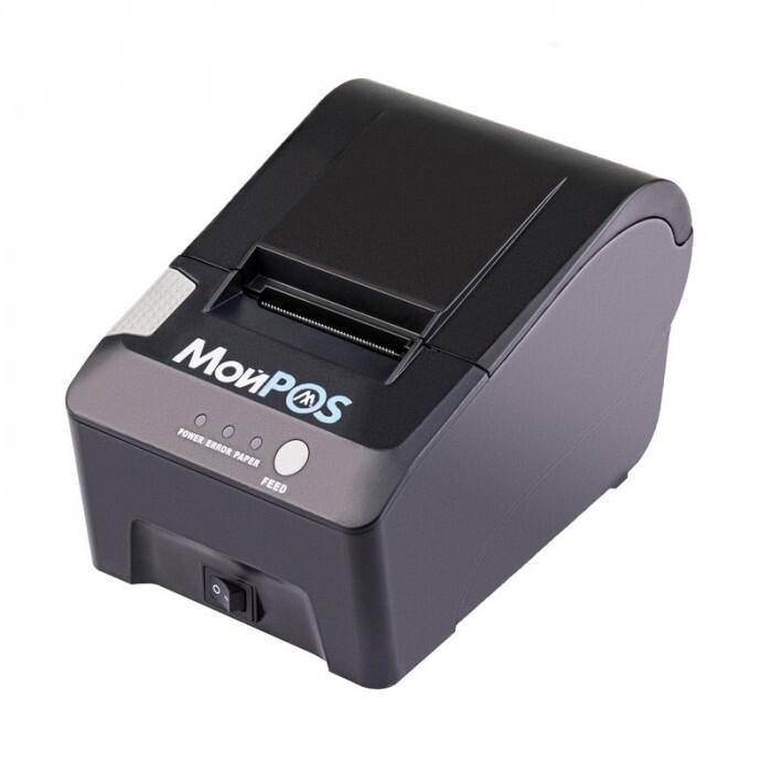 Принтер чеков МойPOS MPR-0058S Чёрный