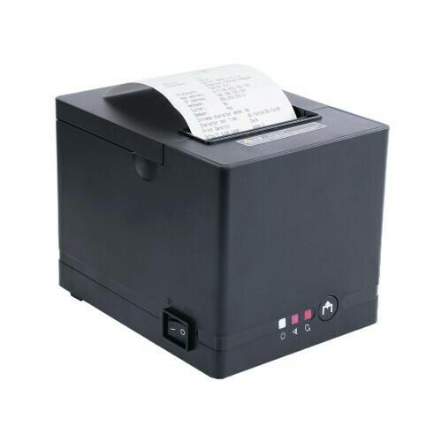 Чековый принтер GP-L80250II черный, скор. печати 250mm/sec, USB+RS232+Ethernet , c автоотрезчиком, световая, звуковая индикация