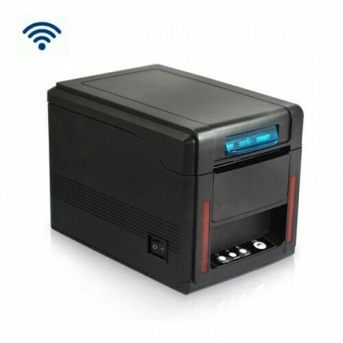 Чековый принтер GP-L80IIN черный, скор. печати 300mmsec, USB+WiFi , c автоотрезчиком, встроенный звонок индикация