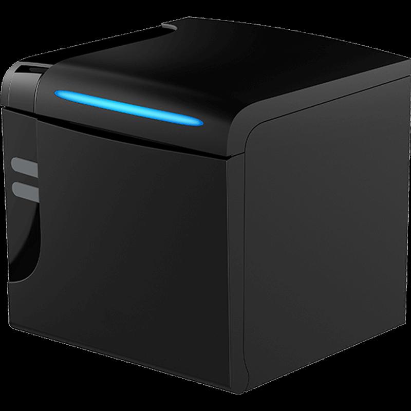 Чековый принтер Datavan PR 7120, USB/RS-232/Ethernet, Черный
