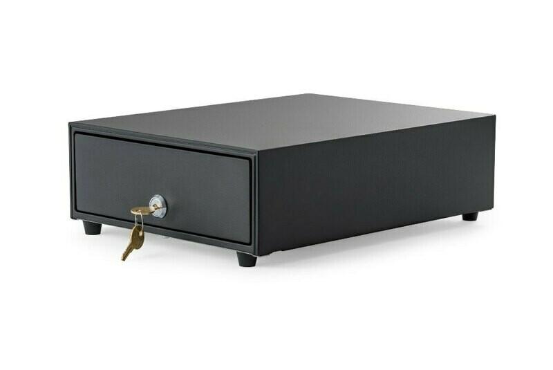 Денежный ящик АТОЛ SB-245-B черный, 245*320*90, механический