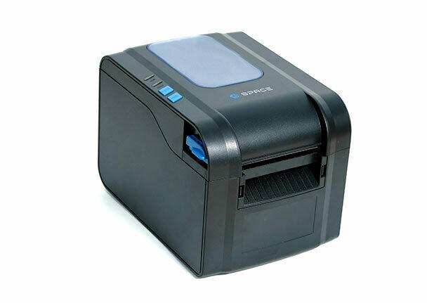 Принтер этикеток SPACE X-32DT (термо, 203 dpi, USB, RS232, Ethernet, с отделителем, черный)