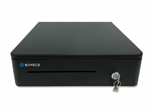 Денежный ящик SPACE BOX-330 (черный, механический, PUSH)