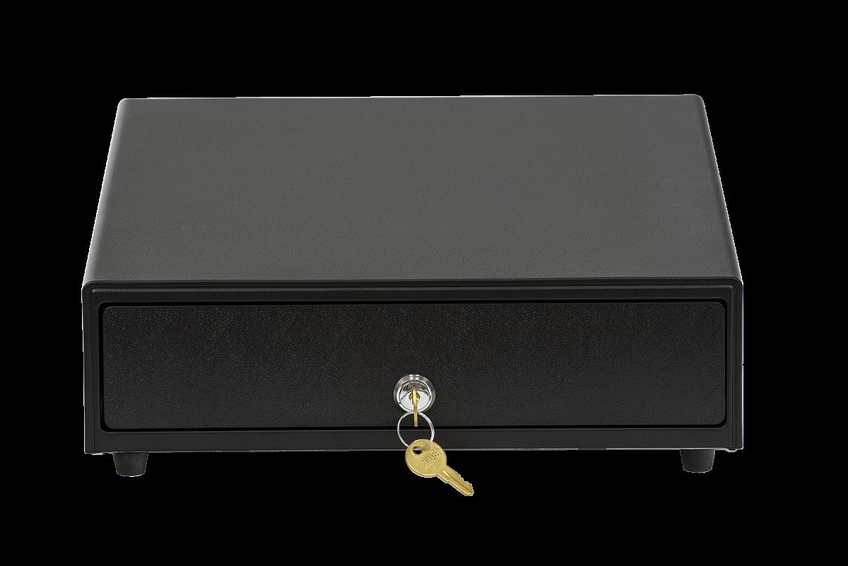 Денежный ящик АТОЛ CD-330-B черный, 330*380*90, 24V, для Штрих-ФР