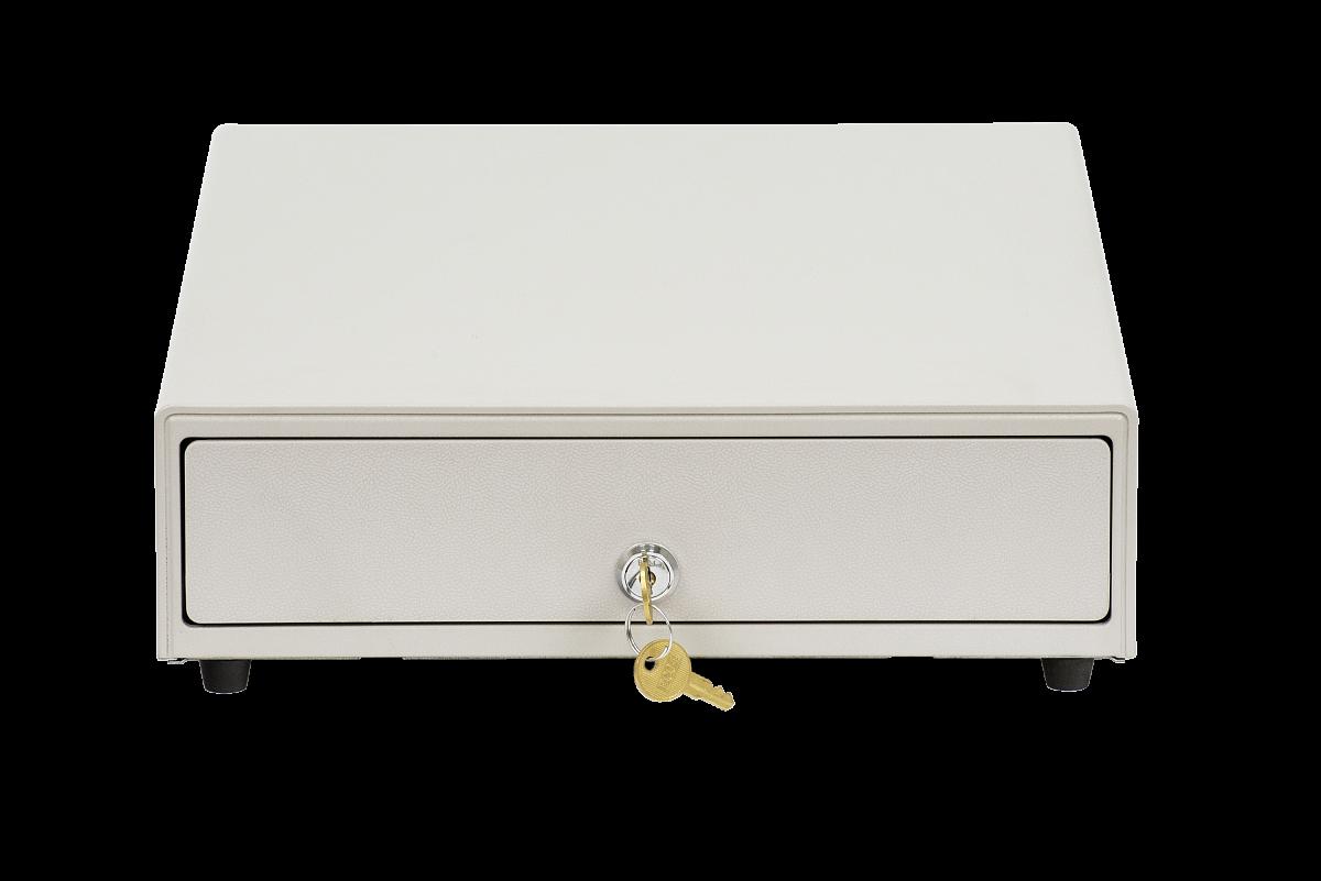 Денежный ящик АТОЛ CD-330-W белый, 330*380*90, 24V