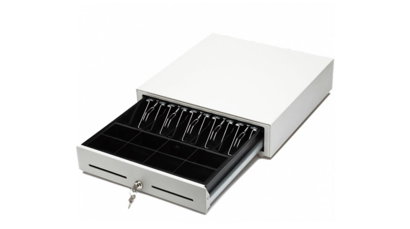 Денежный ящик PayTor HT-410S, Белый, Штрих