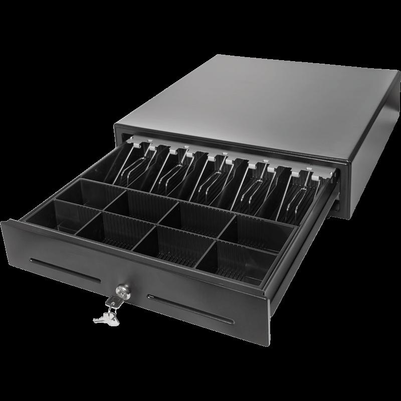 Денежный ящик PayTor MK-410S, Черный, Epson
