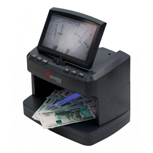 Детектор валют Cassida 2300 DA, черный