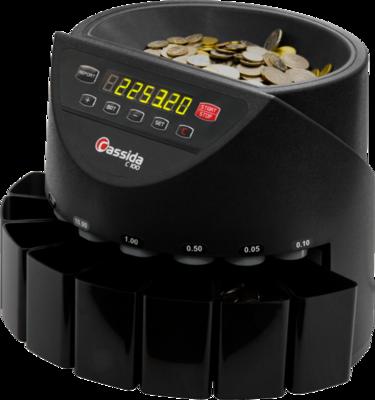 Экономичный и компактный сортировщик монет Cassida  С100
