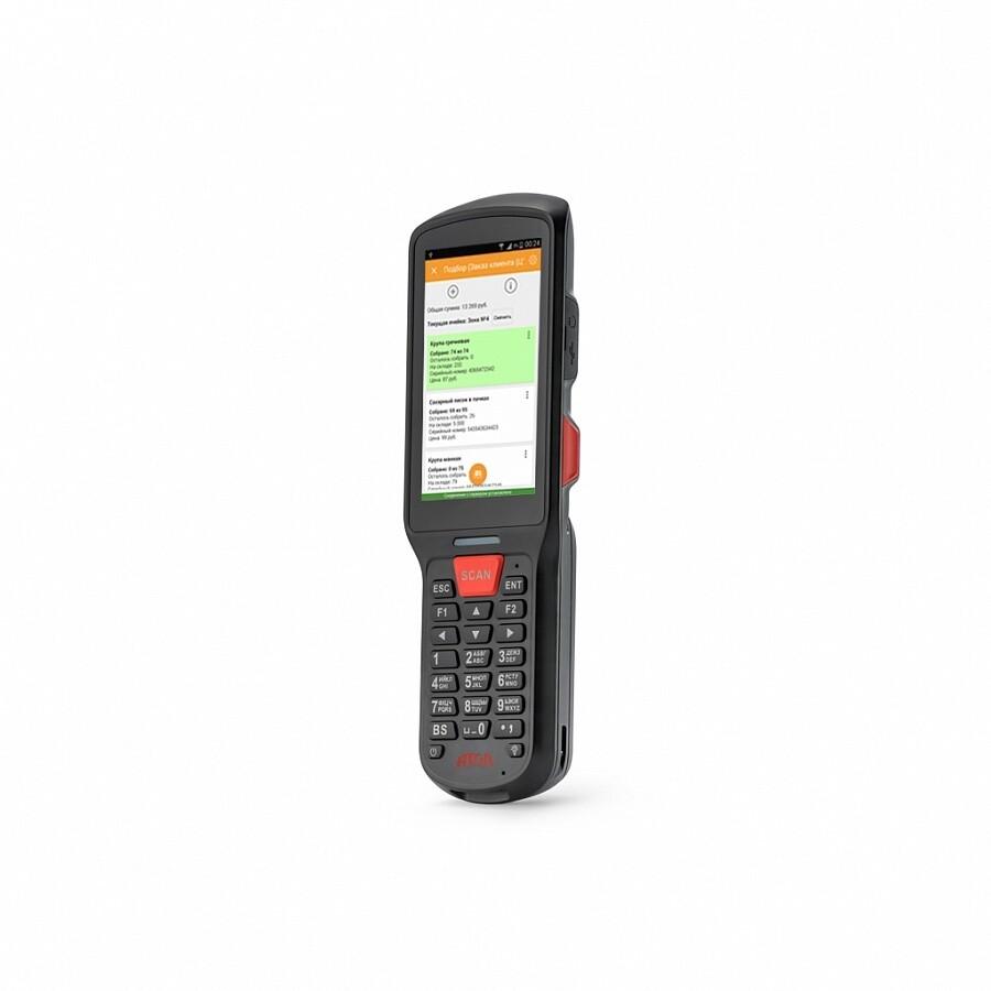 "Мобильный терминал АТОЛ SMART.Lite (Android 7.0, 3G, 2D Imager SE4710, 4"", Camera, 2Гбх16Гб, Wi-Fi bgn, 5200 mAh, Bluetooth, БП)"