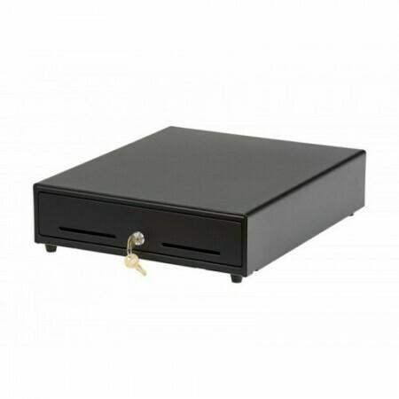 Денежный ящик CD-350, 24v, электромеханический, черный, 350x405x90mm