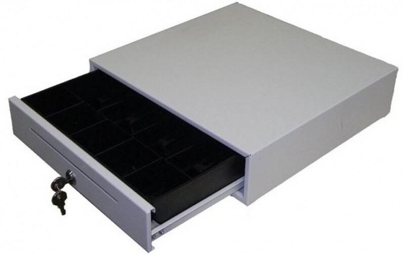 Денежный ящик ШТРИХ-miniCD (белый)(механический)