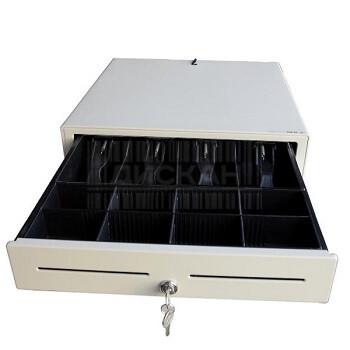Денежный Ящик,360A (356х405х104мм) 4 банкнот8 монет, черныйбелый, EpsonШтрих