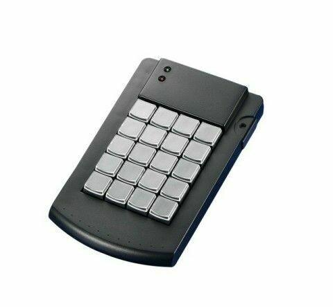 Программируемая клавиатура KB200, усовершенствованная, 20 клавиш, USB