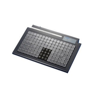 Программируемая клавиатура KB287,  128 клавиш, счит. магн карт, USB