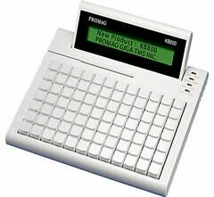 Программируемая клавиатура KB800, усовершенствованная С ДИСПЛЕЕМ!, 84 клавиши, USB