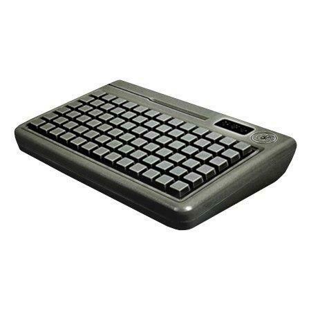 Программируемая клавиатура Shtrih S78D-SP  (78 клавиш; MSR123; ключ; PS/2), влагозащищенная, черная, арт. S78D-SP-B
