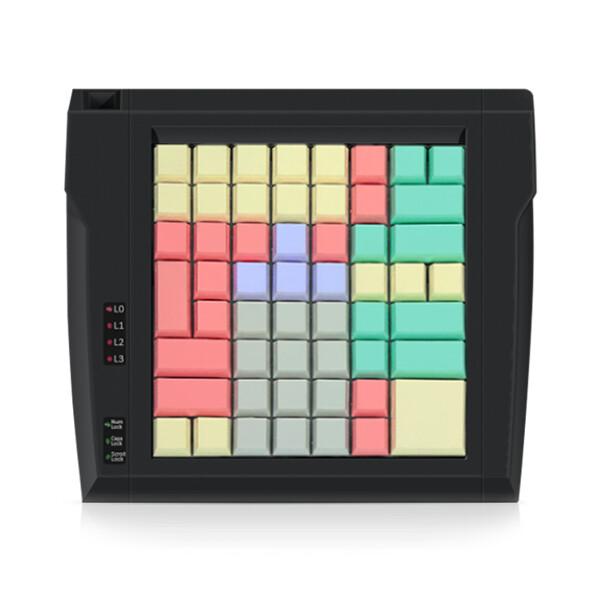 Программируемая клавиатура LPOS-064-Mxx(USB), 64 клавиши, черная