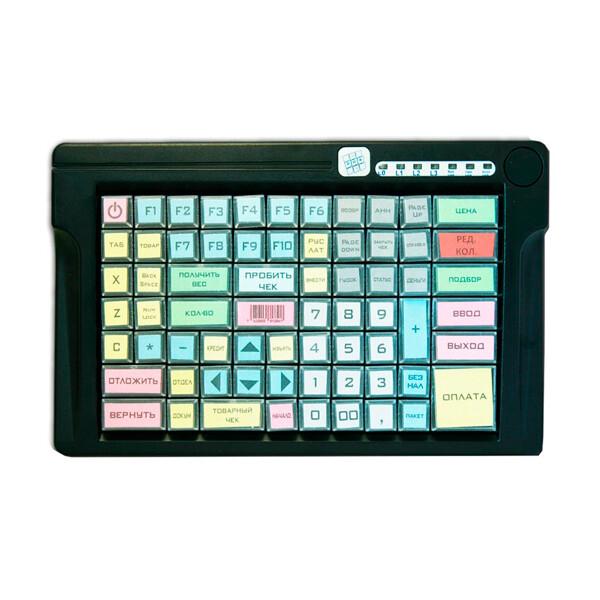 Программируемая клавиатура LPOS-084-Mxx(USB), 84 клавиши, чёрная