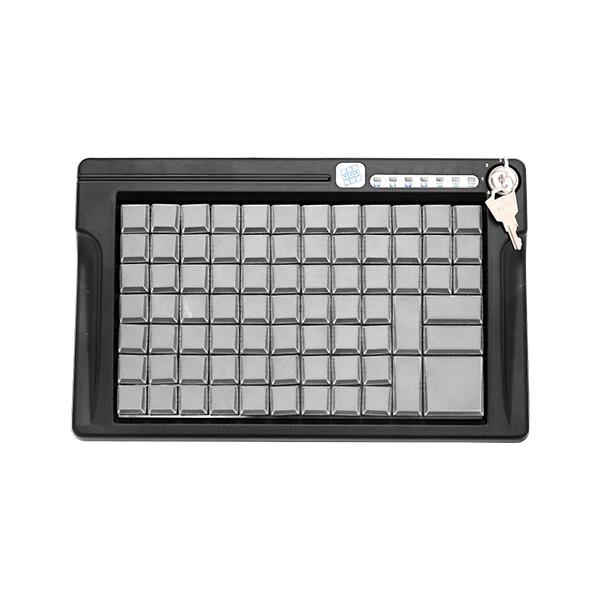 LPOS-084-Mхх(USB), Программируемая клавиатура, 84 клавиши с ключом, чёрная