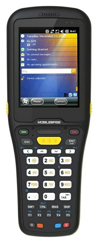 Терминал сбора данных MobileBase DS5 (4.3  , Android 9.0, 2Gb/16Gb, 2D, Wi-Fi, BT, Camera, БП, Numeric RUS, IP67, 5800 mAh)